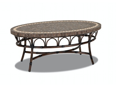 Simple Elegance International Capella OVAL COCKTAIL TABLE W2000 OVCT