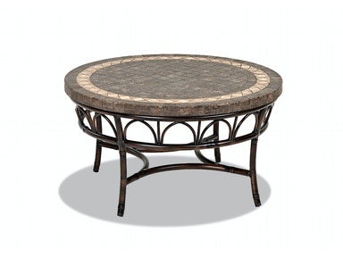 Klaussner Outdoor International Outdoor/Patio Capella ROUND COCKTAIL TABLE