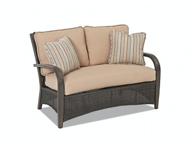 Klaussner Outdoor International Carrington Loveseat W6007 LS