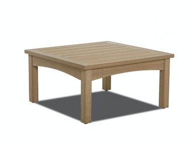 Klaussner Outdoor International Outdoor/Patio Delray Square Cocktail Table