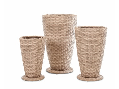 Simple Elegance International Mesa 3 pack Outdoor Planter Set W7501 PLT