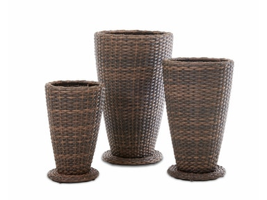 Simple Elegance International Mesa 3 pack Outdoor Planter Set W7502 PLT