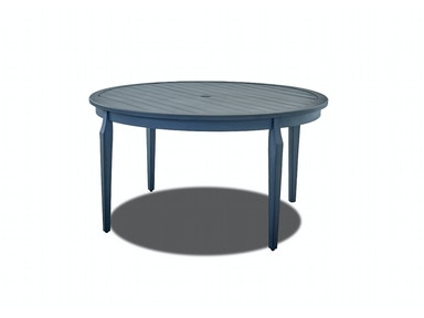"Simple Elegance International Mirage Dining Room Table 55"" Round W2100 DRT55"