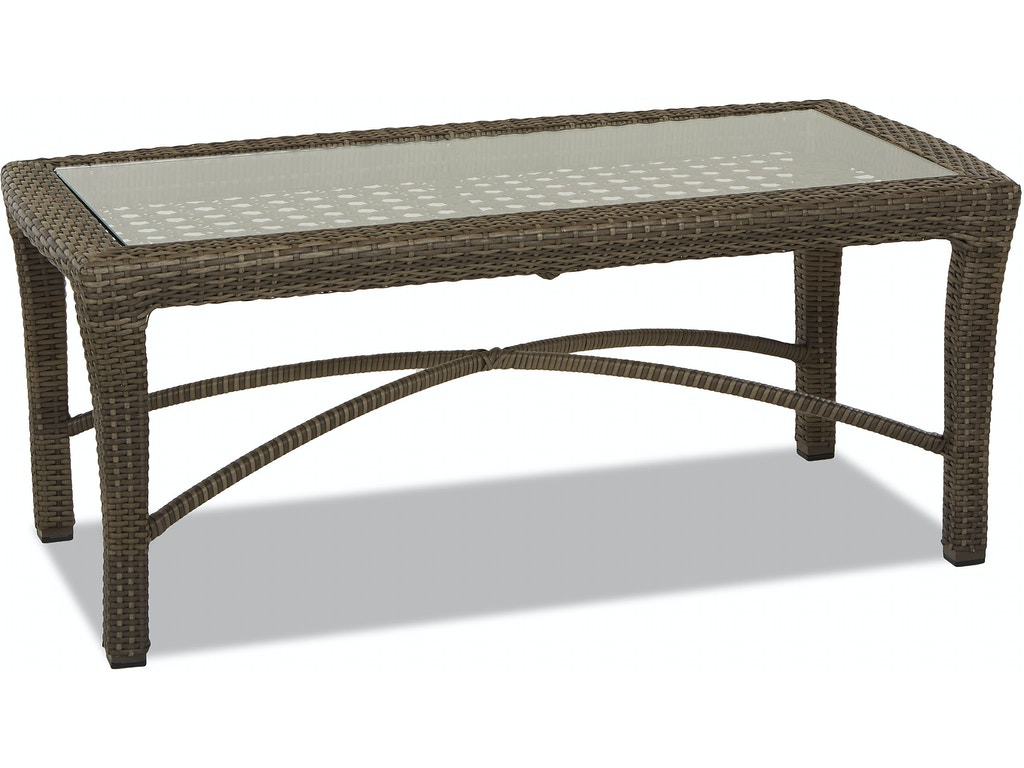 Klaussner Outdoor International Outdoorpatio Amure Rectangular Cocktail Table W1300 Rect