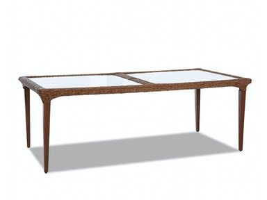 "Simple Elegance International Palmetto 84"" Dining Table W1400 DRT84"