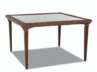 "Simple Elegance International Palmetto 48"" Dining Table W1400 DRT48"