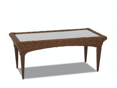 Simple Elegance International Palmetto Rectangular Cocktail Table W1400 RECT
