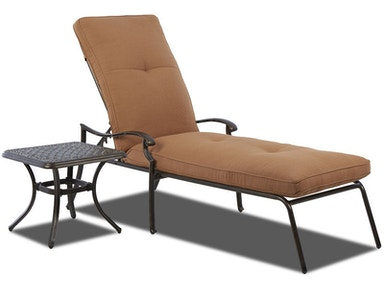Lowell Bay Chaise Lounge Klaussner Outdoor International