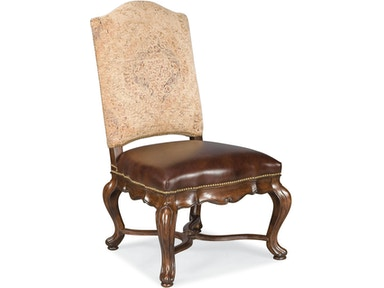 Thomasville - Hills of Tuscany Bibbiano Side Chair (Dark Rustico)