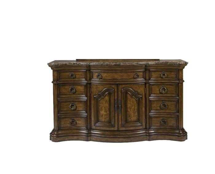 San Mateo Marble Top Dresser