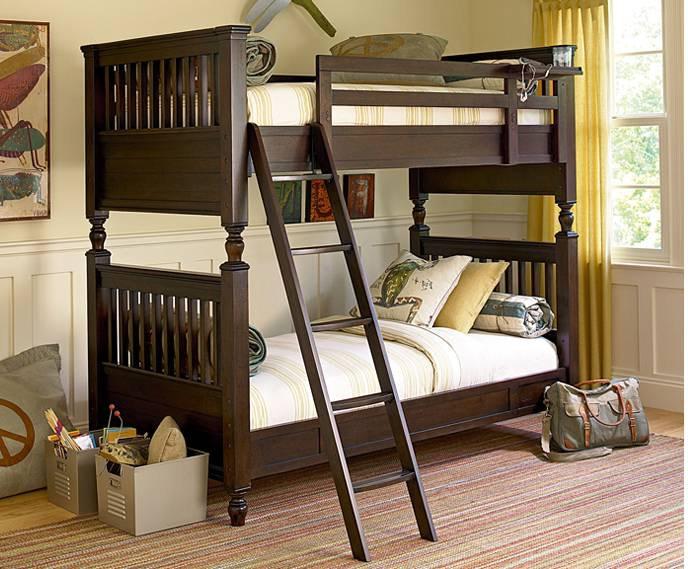Paula Deen Guys Bunk Twin Bed KT:99911