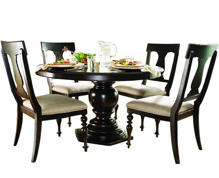dining room paula deen round dining table
