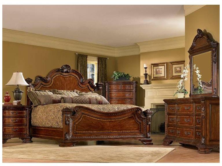 Bedroom Old World Estate Bed