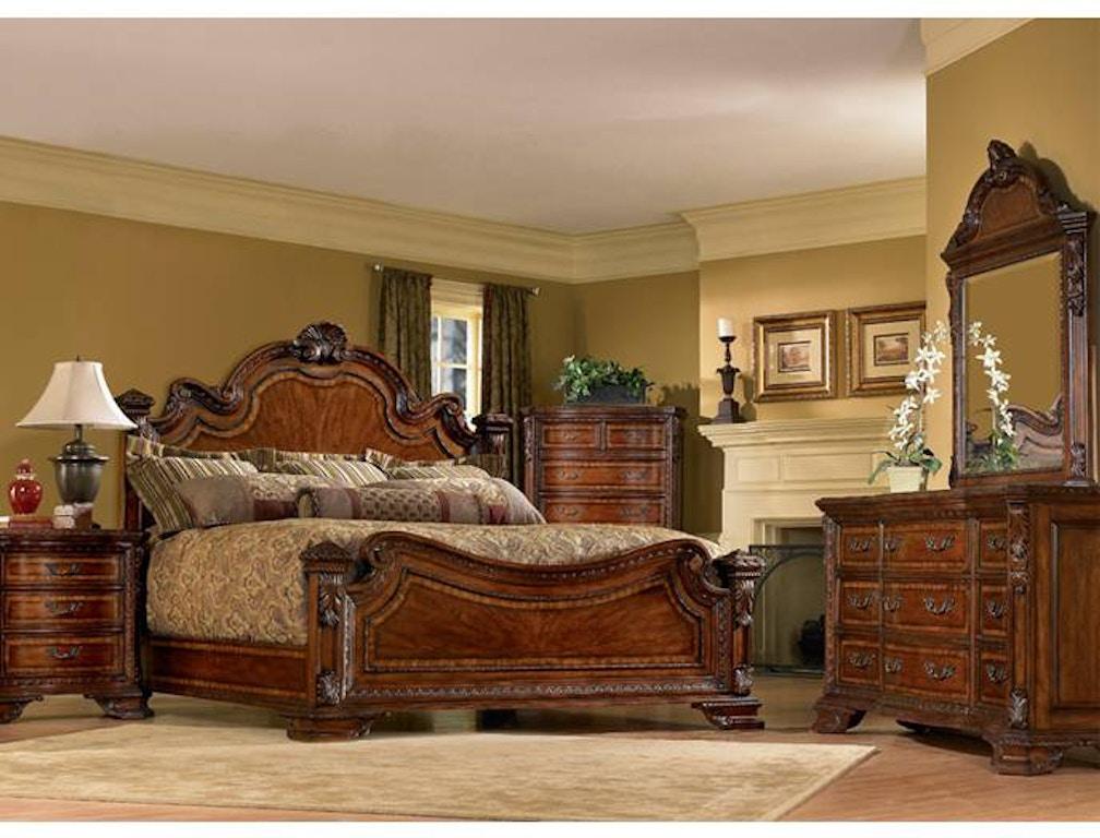 Bedroom Old World Queen Estate Bed