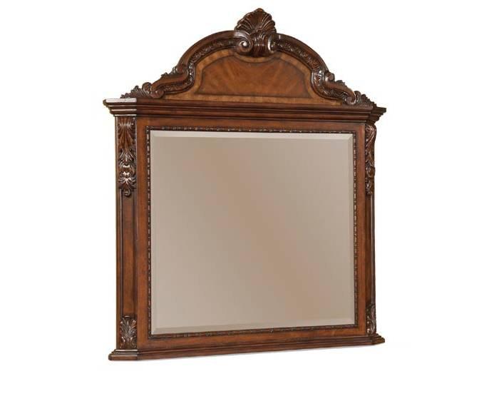 Old World Vertical Mirror