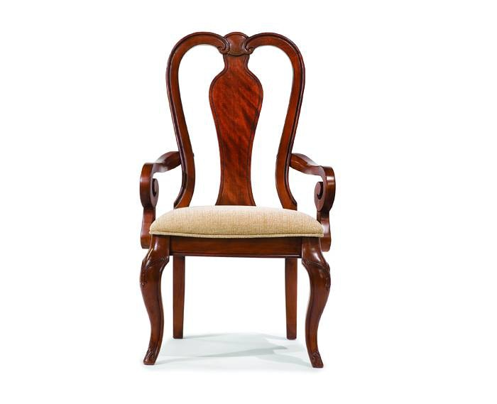 Dining Room Evolution Queen Anne Arm Chair