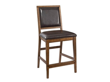 Santa Clara Upholostered Back Counter Stool