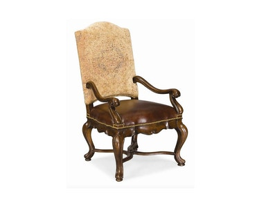 Thomasville - Hills of Tuscany Bibbiano Arm Chair (Dark Rustico)