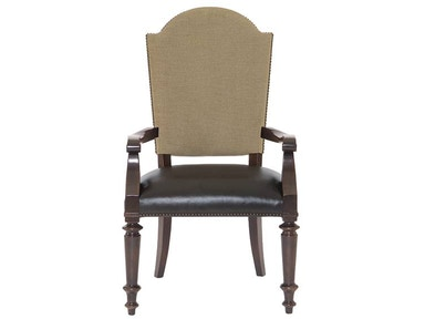 Pacific Canyon Leather Seat Arm Chair