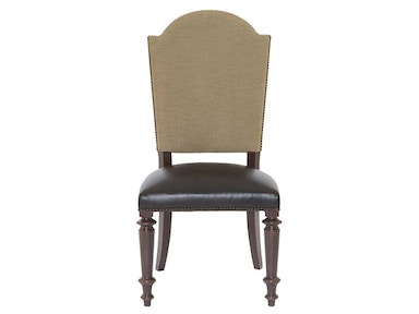 Pacific Canyon Leather Seat Side Chair