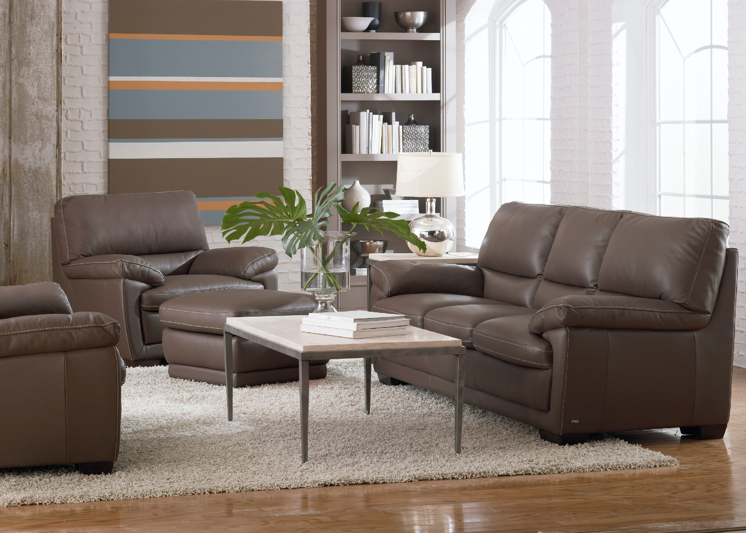 taupe couch living room living room denver leather sofa taupe 15370