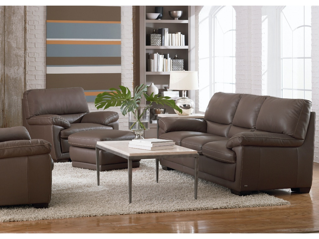 Living room denver leather sofa dark taupe for Drawing room farnichar