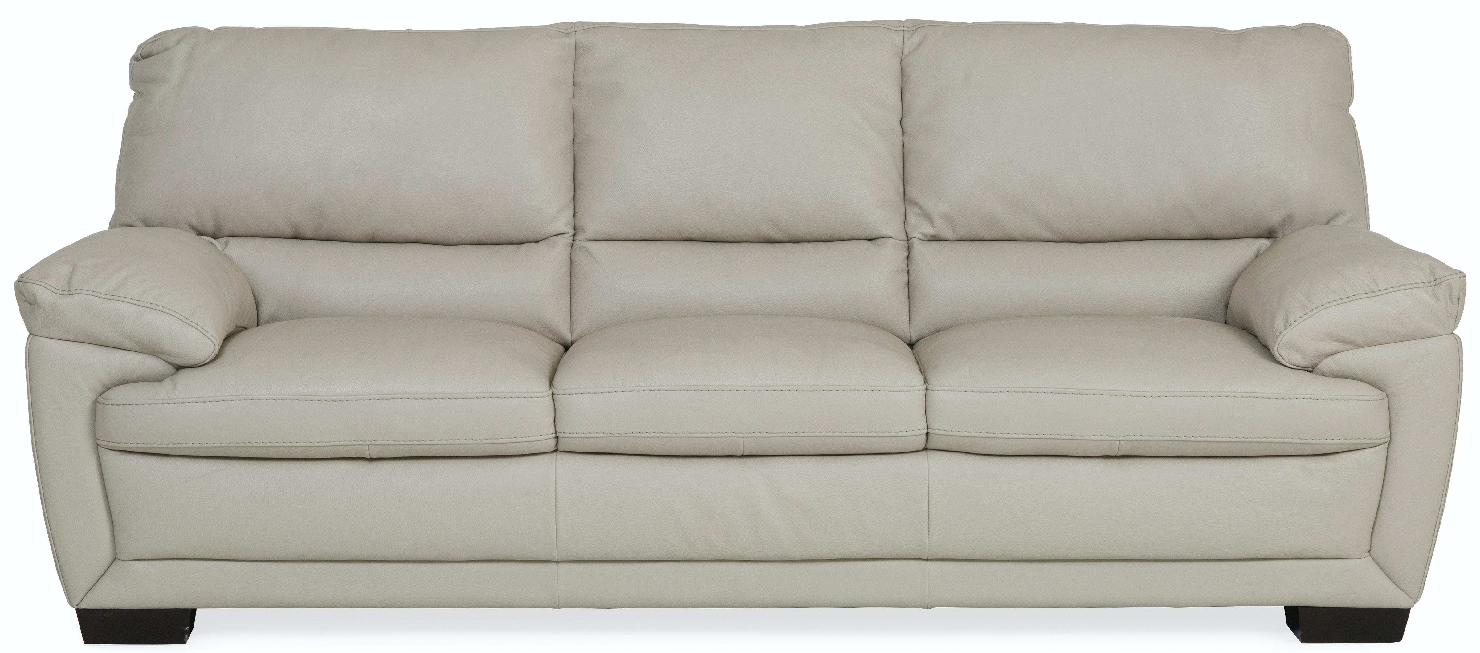 Charmant Denver Leather Sofa   IVORY SMOKE ST:341192