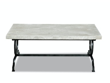Roca Blanca Rectangle Cocktail Table