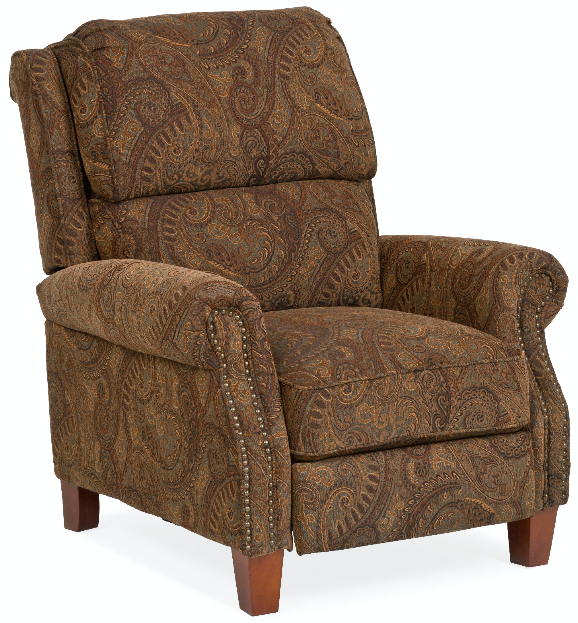 Beau William Manual Club Chair Recliner   PAISLEY ST:374237