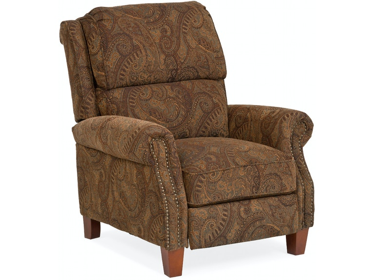 Living Room William Manual Club Chair Recliner - PAISLEY
