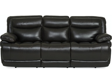 longhorn leather power reclining sofa blackberry - Sofa Leather