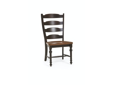 Canadel Ebony Washed Dining Side Chair