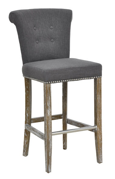 Vincent Coal Barstool