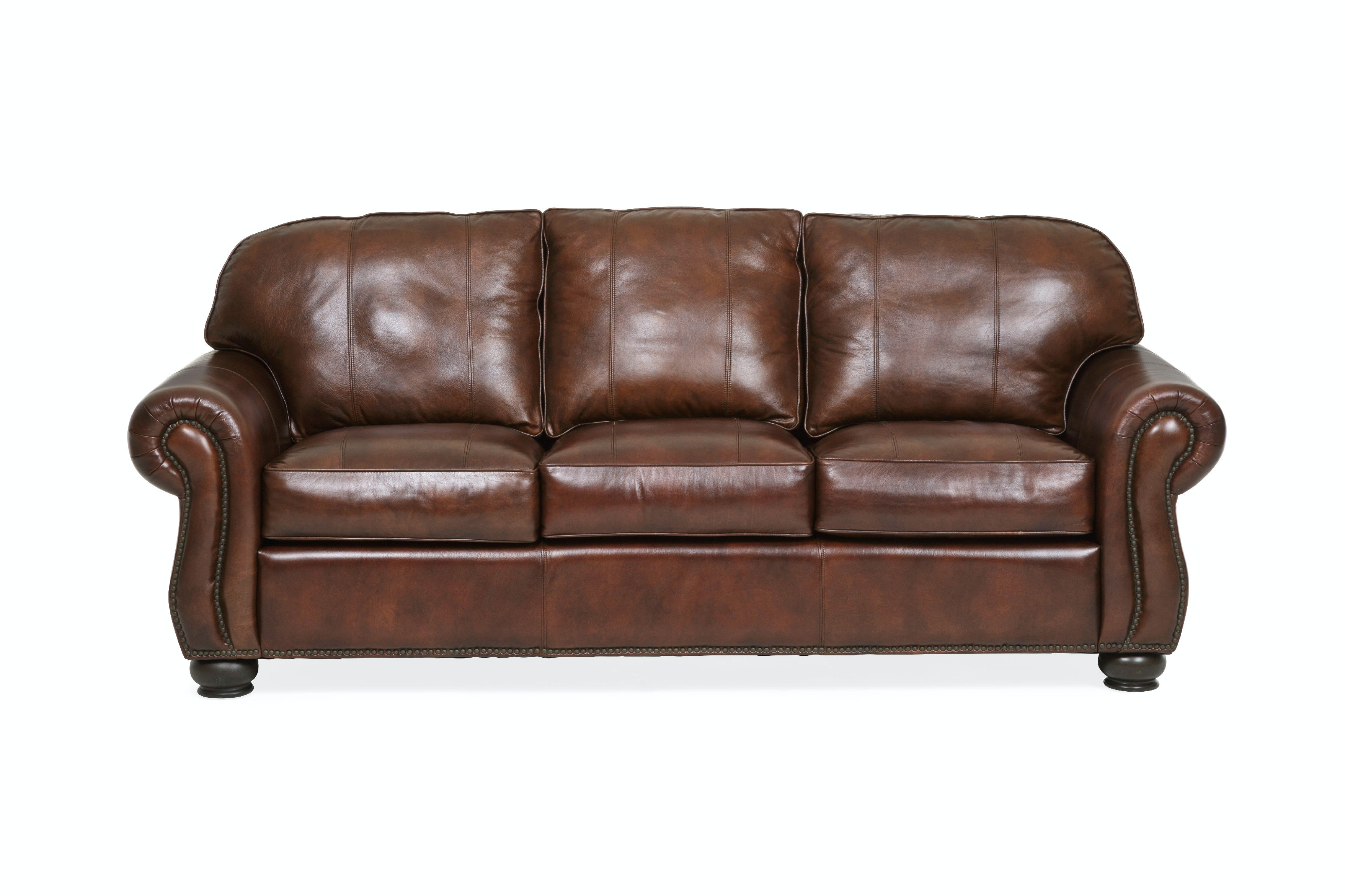 Benson Leather Sofa ST:405556