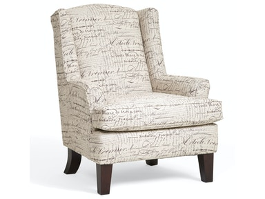 Andrea Script Wing Chair