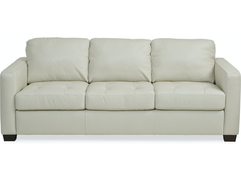 Denver Leather Sofa Ivory St 411896