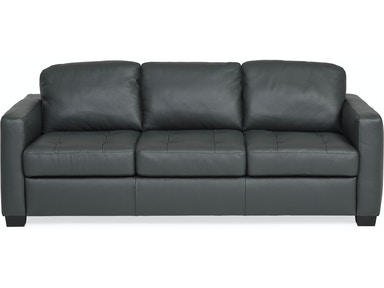 Denver Leather Sofa Anthracite