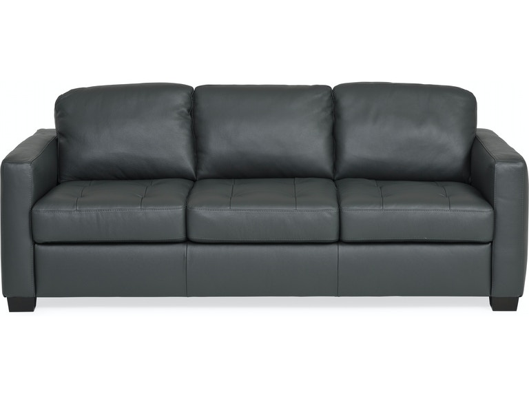 Denver Leather Sofa Anthracite St 411899