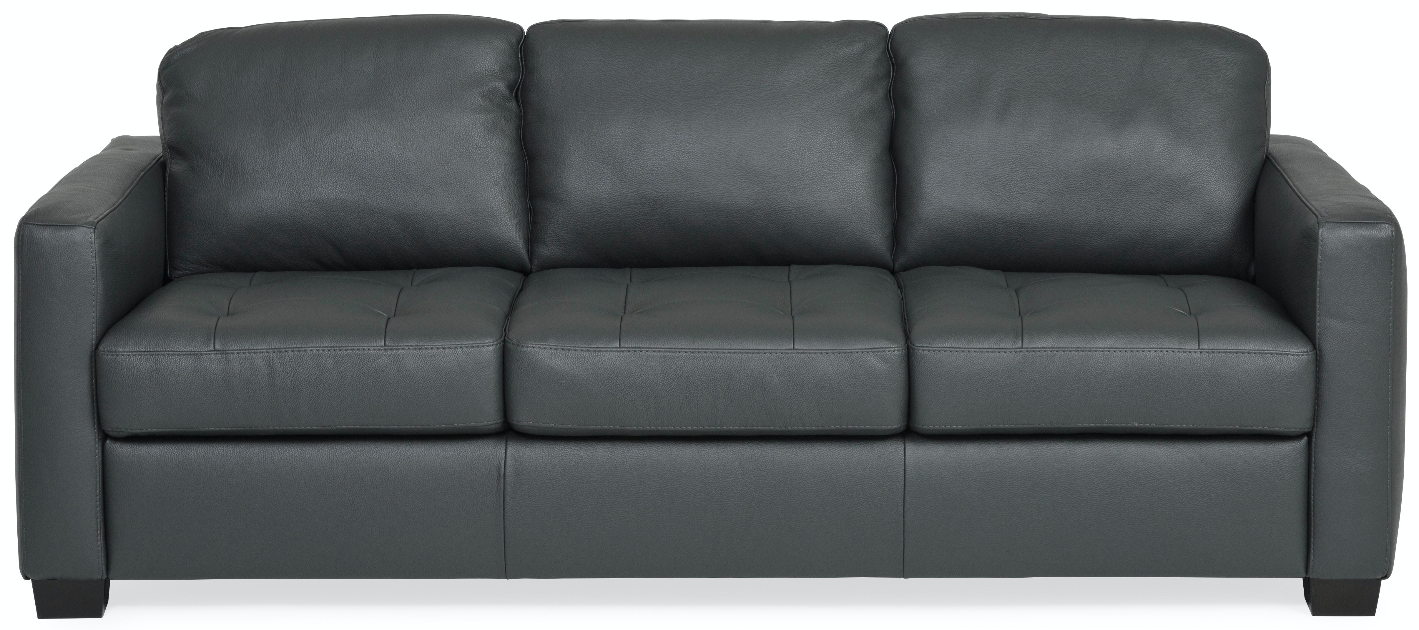 Merveilleux Denver Leather Sofa   ANTHRACITE ST:411899