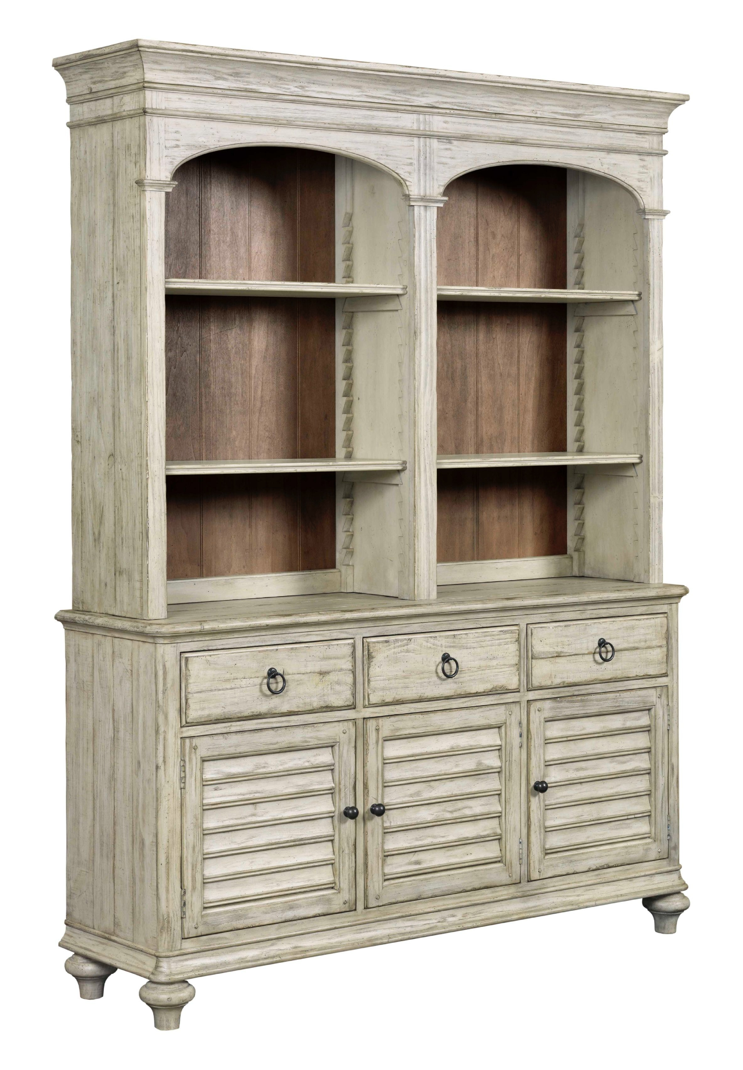 Weatherford Hastings Open Hutch And Buffet   CORNSILK KT:18689
