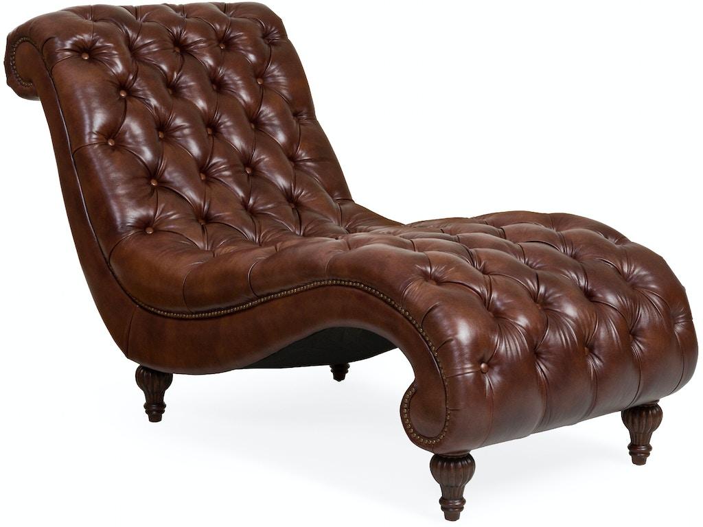 Living room dani leather chaise for Chaise description