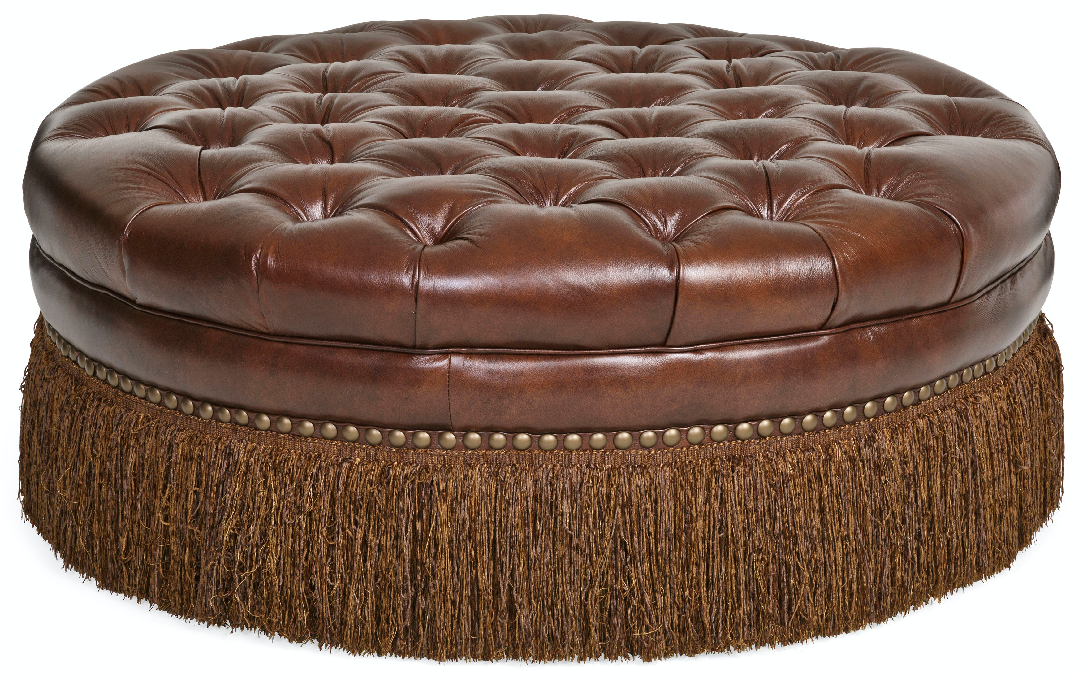 Superieur Becky II Cocktail 100% Leather Ottoman