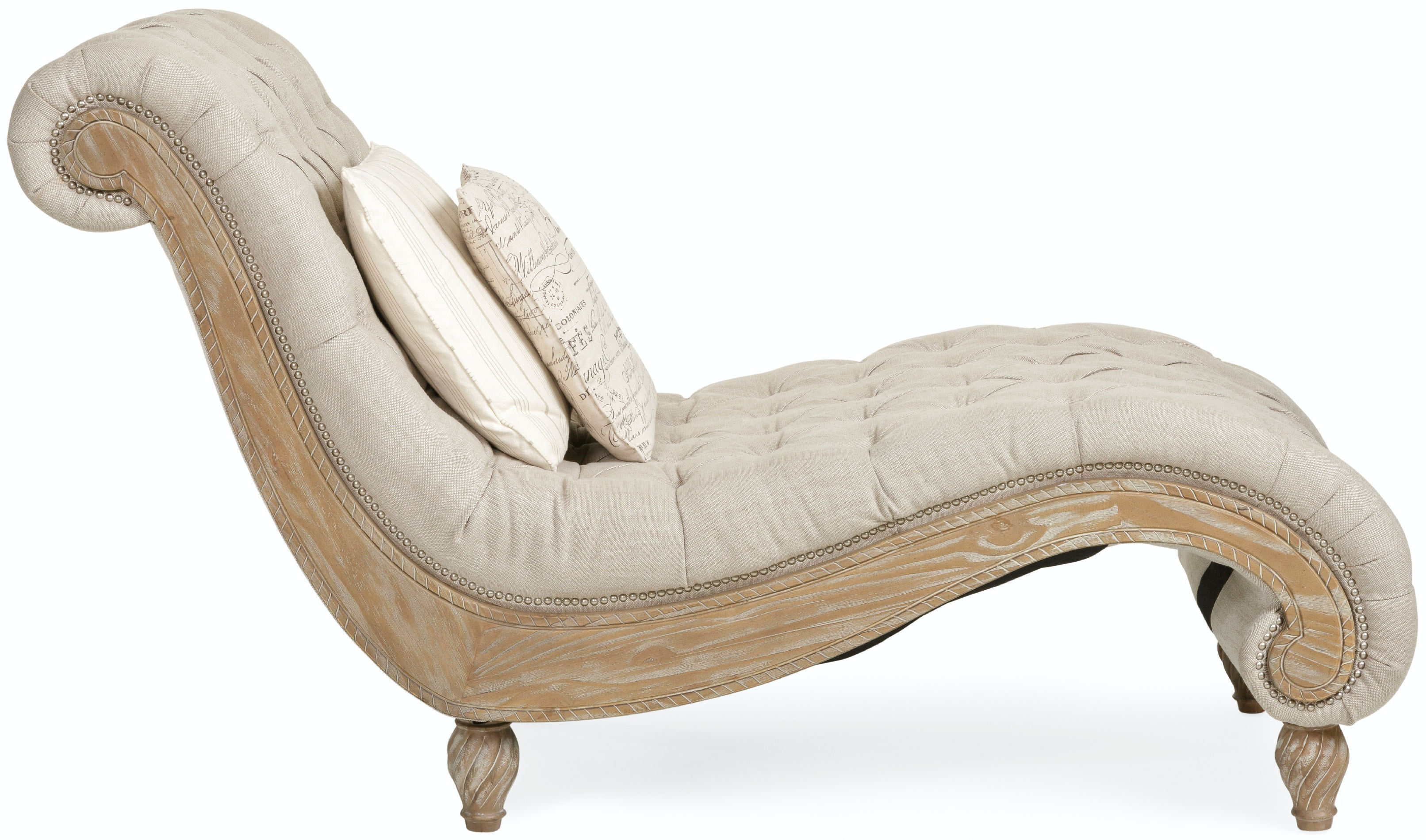 Dinah Tufted Chaise - LINEN ST413297  sc 1 st  Star Furniture : dinah chaise - Sectionals, Sofas & Couches