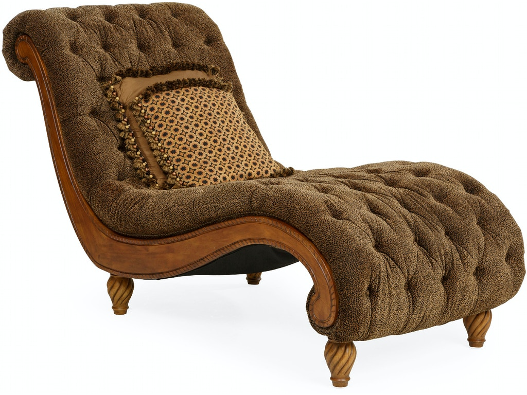 Living room dinah tufted chaise cheshire for Chaise description