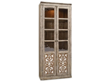 Chatelet Two-Door Bunching Curio Cabinet