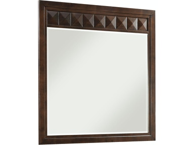 Brownstone Landscape Mirror