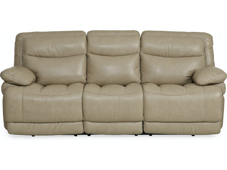 Longhorn Leather Reclining Sofa Wheat St 436971