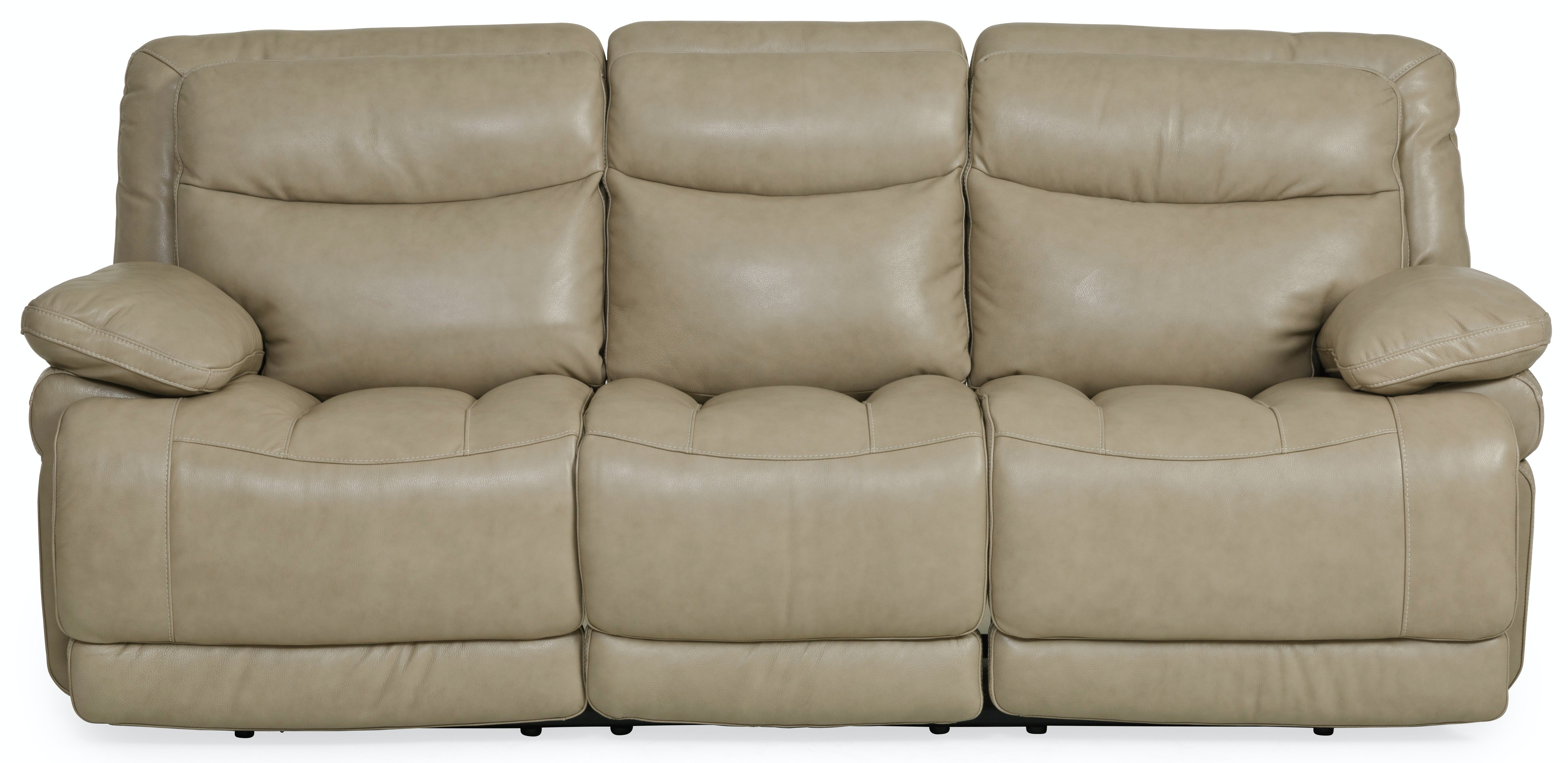 Longhorn Leather Power Reclining Sofa   WHEAT ST:436971