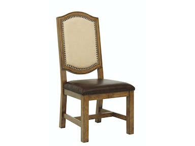 American Attitude Wood Frame Side Chair