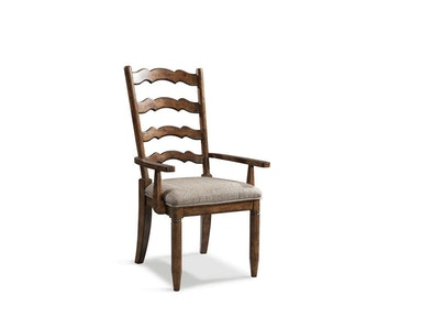 Southern Pines Ladder Back Arm Chair